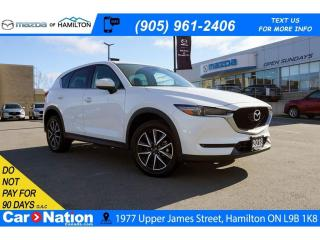 Used 2018 Mazda CX-5 GT | LEATHER | SUNROOF | NAV | REAR CAM for sale in Hamilton, ON
