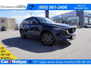 Used 2018 Mazda CX-5 GT | LEATHER | SUNROOF | REAR CAM | NAV | for sale in Hamilton, ON