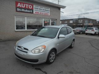 Used 2007 Hyundai Accent GL ** 85 000 KM CERTIFIÉ ** for sale in St-Hubert, QC