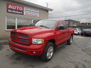 Used 2002 Dodge Ram 1500 CREW CAB 4X4 for sale in St-Hubert, QC