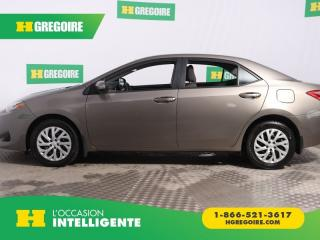 Used 2017 Toyota Corolla LE A/C GR ELECT for sale in St-Léonard, QC