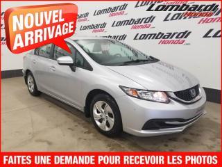 Used 2014 Honda Civic LX*+PETIT PAIEMENT AUX 2 SEMAINES for sale in Montréal, QC