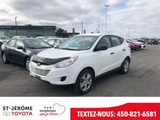Used 2013 Hyundai Tucson GL for sale in Mirabel, QC