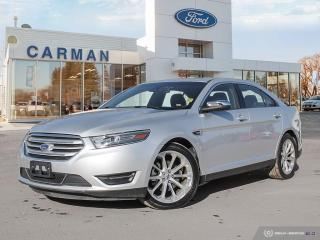 Used 2018 Ford Taurus LIMITED for sale in Carman, MB
