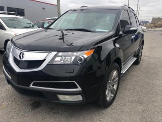 Used 2012 Acura MDX Groupe élite 4 portes à traction intégra for sale in Québec, QC