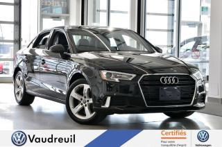 Used 2017 Audi A3 Audi A3 2.0T Komfort  *TOIT *BLUETOOTH for sale in Vaudreuil-Dorion, QC