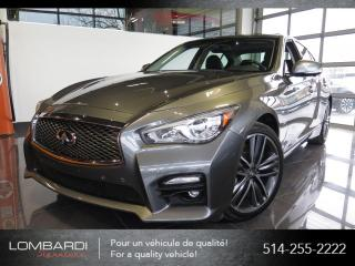 Used 2015 Infiniti Q50 |SPORT|TECH|NAVI|360CAMERA|BOSE| for sale in Montréal, QC