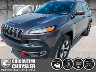 Used 2015 Jeep Cherokee Trailhawk 4 portes 4 roues motrices for sale in Chicoutimi, QC