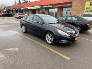 Used 2011 Hyundai Sonata Limited w/Nav/Backup Camera/No Accidents for sale in Burlington, ON