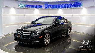 Used 2012 Mercedes-Benz C-Class 4MATIC + GARANTIE + NAVI + HARMAN KARDON for sale in Drummondville, QC