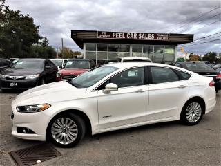 Used 2015 Ford Fusion SE Hybrid |REARVIEW| LEATHERSEAT | for sale in Mississauga, ON