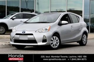 Used 2014 Toyota Prius c Ac Cruise Hybride for sale in Lachine, QC