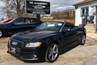 Used 2011 Audi A5 2.0L S-LINE AWD CONVERTIBLE NAVI NO ACCIDENT for sale in Mississauga, ON