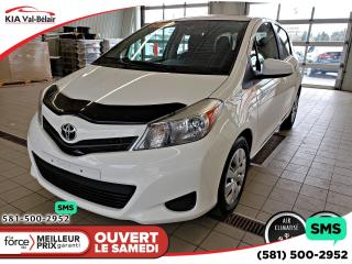 Used 2014 Toyota Yaris Le Lecteur Cd A/c for sale in Québec, QC