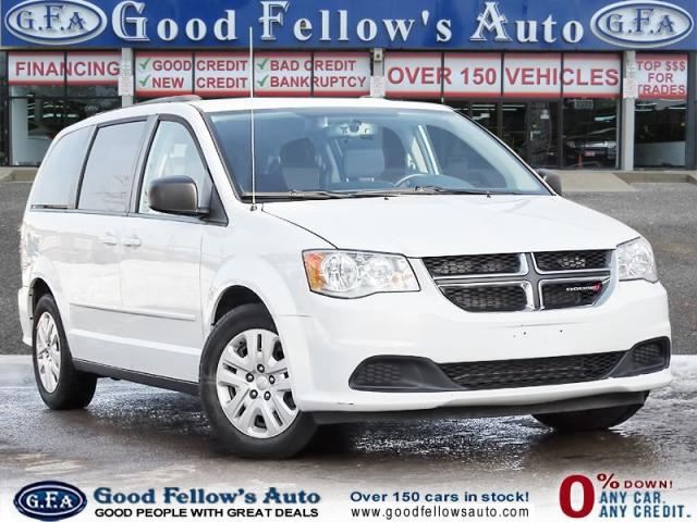 2015 Dodge Grand Caravan SXT MODEL, 7 PASSENGER, STOW & GO