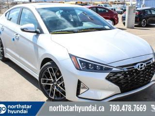 New 2019 Hyundai Elantra SPORT-1.6T/SAFETY PKG/HEATED SEATS/APPLE CAR PLAY/SPORT SEATS for sale in Edmonton, AB