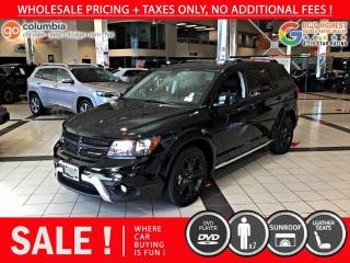 Used 2019 Dodge Journey Crossroad AWD - DvD / Sunroof / Leather for sale in Richmond, BC