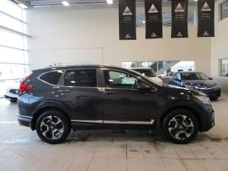 Used 2019 Honda CR-V Touring Power Liftgate Moonroof Remote Start for sale in Red Deer, AB