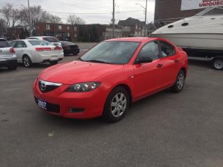 Used 2007 Mazda MAZDA3 GX for sale in Burlington, ON