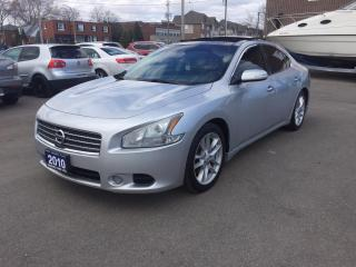 Used 2010 Nissan Maxima 3.5 S for sale in Burlington, ON