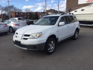 Used 2006 Mitsubishi Outlander LS for sale in Burlington, ON