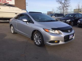 Used 2012 Honda Civic EX-L for sale in Burlington, ON
