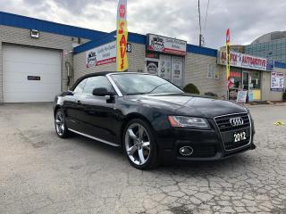 Used 2012 Audi A5 2.0L Premium Plus_Navigation_Backup Camera for sale in Oakville, ON