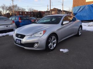 Used 2010 Hyundai Genesis Coupe Premium for sale in Burlington, ON