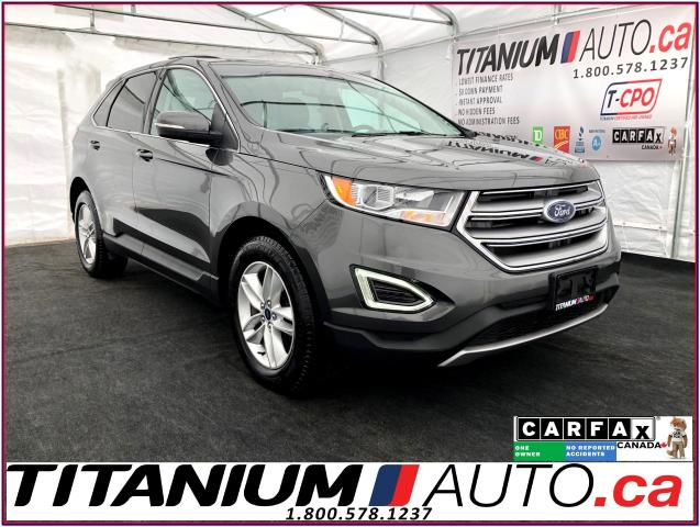 2016 Ford Edge SEL-V6-AWD-GPS-Camera-Blind Spot-Pano Roof-Leather