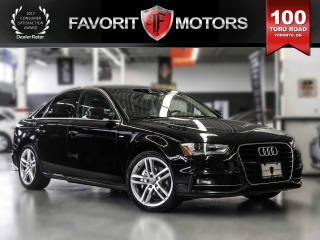 Used 2015 Audi A4 NAVIGATION | SUNROOF | LEATHER | BACKUP CAMERA for sale in North York, ON