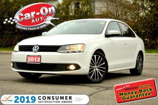Used 2013 Volkswagen Jetta 2.5L Comfortline LEATHER SUNROOF HTD SEATS ALLOYS for sale in Ottawa, ON