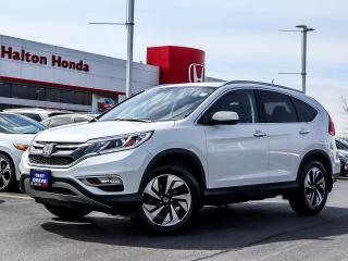 Used 2016 Honda CR-V TOURING|SERVICE HISTORY ON FILE|ONE OWNER for sale in Burlington, ON