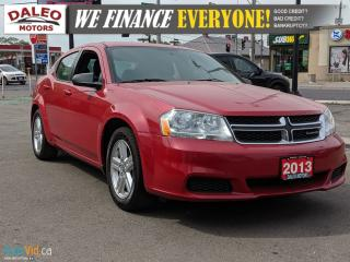Used 2013 Dodge Avenger | A/C | WE FINANCE EVERYONE! for sale in Hamilton, ON