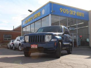 Used 2010 Jeep Liberty Sport | 4WD | POWERTRAIN WARRANTY INCLUDED | POWER WINDOWS | ALLOYS for sale in Hamilton, ON