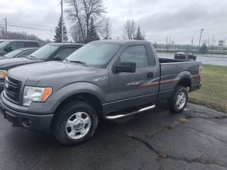 Used 2014 Ford F-150 STX REG CAB 4X4 AIR TILT CRUISE 3 PASS for sale in Smiths Falls, ON