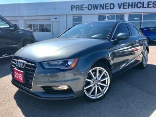 Used 2015 Audi A3 2.0T Technik Quattro 6sp S Tronic Navi|Bang&O Soun for sale in Mississauga, ON