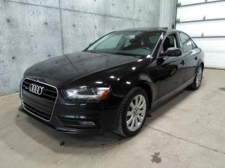 Used 2013 Audi A4 Quattro 6v 2.0l for sale in Lévis, QC
