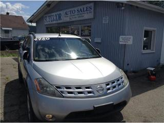 Used 2003 Nissan Murano Fully Certified! for sale in St Catharines, ON