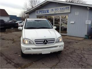 Used 2005 Mercedes-Benz ML-Class 3.7L Special Edition Fully Certified! for sale in St Catharines, ON
