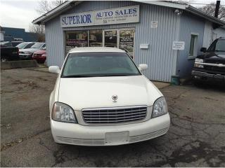 Used 2004 Cadillac DeVille Fully Certified! for sale in St Catharines, ON