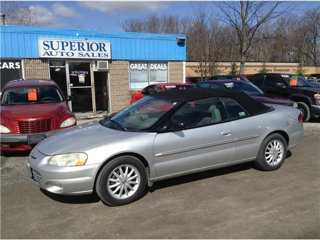 2001 Chrysler Sebring LXi Fully Certified!