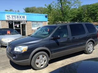 Used 2008 Pontiac Montana Sv6 w/1SB Fully Certified! for sale in St Catharines, ON