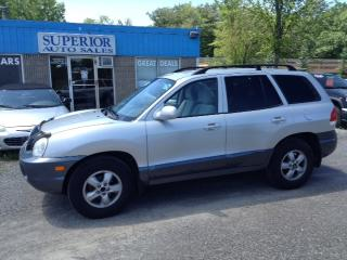 Used 2005 Hyundai Santa Fe GL Fully Certified! for sale in St Catharines, ON