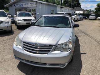 Used 2008 Chrysler Sebring LX Fully certified! Convertible! for sale in St Catharines, ON
