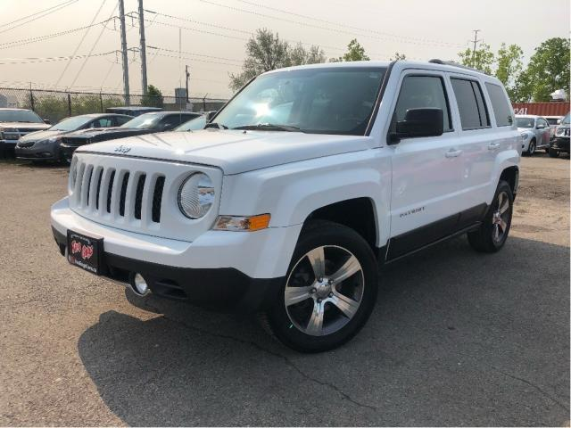 2016 Jeep Patriot Sport/North 4x4 Leather Sunroof