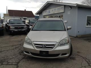 Used 2007 Honda Odyssey EX Fully Certified! No accidents! for sale in St Catharines, ON