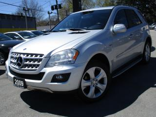 Used 2009 Mercedes-Benz ML-Class ML 320 DIESEL ~ LEATHER ~ SUNROOF ~ 152KMS~NAVI for sale in Burlington, ON