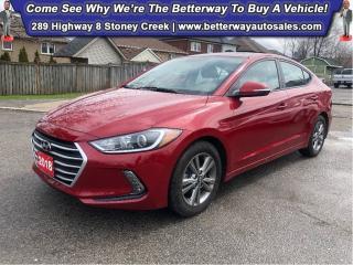 Used 2018 Hyundai Elantra GLS| Heat Steer & Seat| Backup Cam| B-Tooth for sale in Stoney Creek, ON