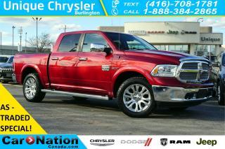 Used 2014 RAM 1500 LONGHORN| AS-TRADED| ECODIESEL| 3.55 REAR AXLE for sale in Burlington, ON