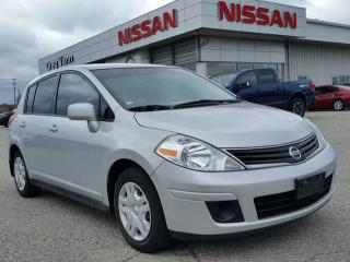 Used 2012 Nissan Versa 1.8 w/low KMS, keyless entry,power windows for sale in Cambridge, ON